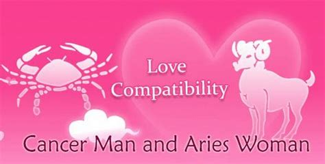 Cancer Man and Aries Woman Love Compatibility