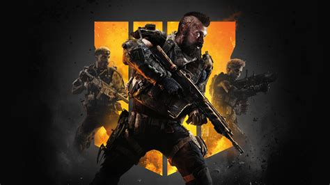 Wallpaper Call of Duty Black Ops 4, poster, 4K, Games #19384