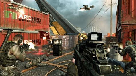 Black Ops II new Multiplayer Screens show maps Cargo