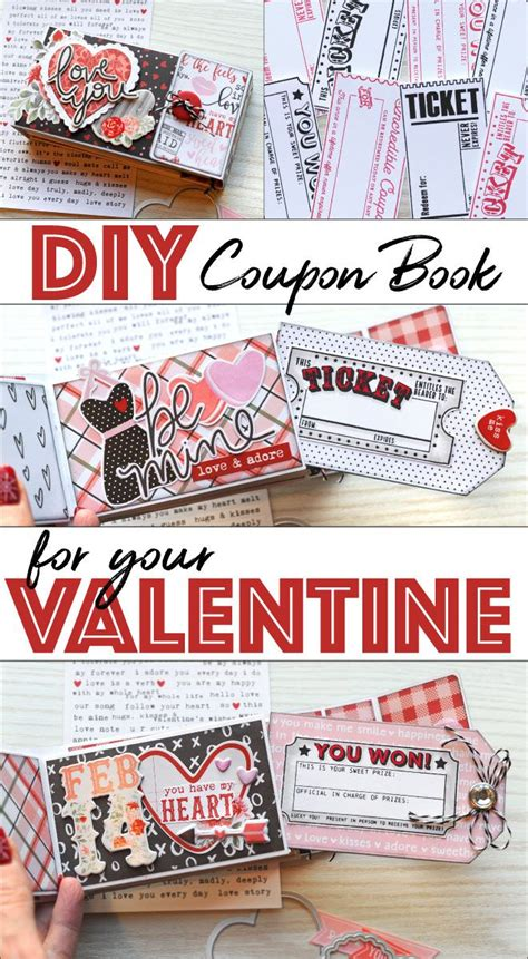 How to Make a Valentine's Day Coupon Book | Valentine and