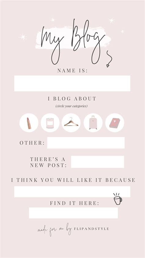 Pretty Instagram Story Templates - Flip And Style