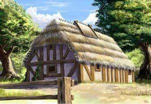 What were peasants houses made of in the Middle Ages? - Quora