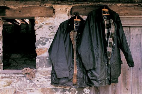 Waxed Cotton Jackets Barbour   CHO   Blog