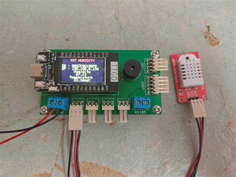 ESP32 Project: IOT Humidity Temperature with HTTP – Blog